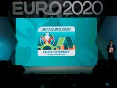 Il sorteggio dell'Europeo 2020. Efe