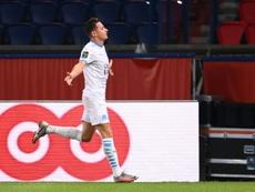 Thauvin a marqué le but de la victoire contre le PSG. AFP