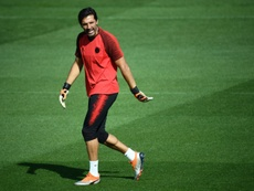 Buffon has moved to PSG. AFP