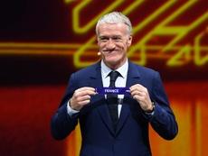 Deschamps habló sobre cómo le va a Kanté en el Chelsea. AFP