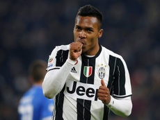 Alex Sandro has a contract until 2020 with Juventus. AFP