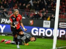 Les compos probables du match de Ligue 1 entre Reims et Rennes. AFP