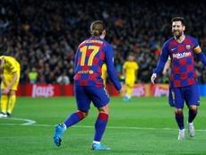 Font évoque le rôle de Messi au FC Barcelone. AFP
