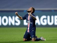 Neymar repasó sus desgracias: el motivo por el que celebró la final como un título. AFP