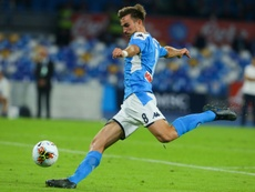 Fabian Ruiz tests positive for coronavirus. AFP