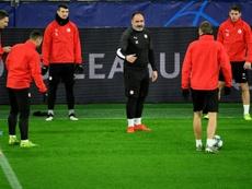Un futbolista del Slavia de Praga ha dado positivo. AFP/Archivo
