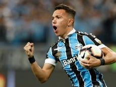 El brasileño suena para jugar en Portugal. AFP