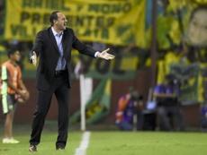 Rogério Ceni exigió las mejoras para renovar con Fortaleza. AFP