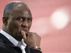 Vieira has been sacked. AFP