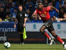 O United colocou data limite para a saída de Pogba. AFP
