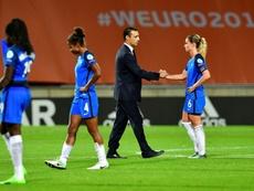 La Selección de Francia venció a la de Estados Unidos. AFP/Archivo