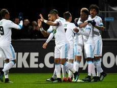 El Olympique de Marsella endosó un 0-9 a su rival. AFP