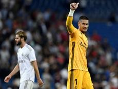 Areola se despidió del Real Madrid. AFP