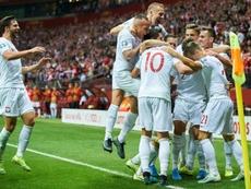 Polonia estará en la Eurocopa. AFP