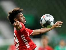 United open the door to Coman as Sancho slips away. AFP