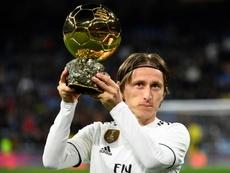 Luka Modric revient sur sa victoire au Ballon d'Or 2018. AFP