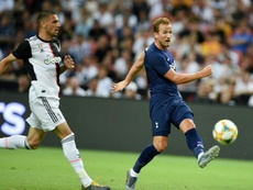 Harry Kane fires stoppage-time winner against Juventus. AFP