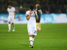 Défaite contre le Werder Brême. AFP