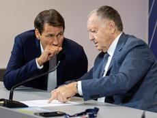 Garcia fait des éloges de son président. afp