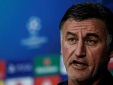 Galtier espera sumar ante el Valencia. AFP