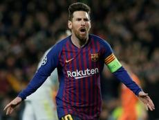 Champions League top scorers 2018-19. AFP