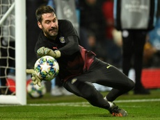 Scott Carson is owned by City. AFP
