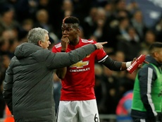 Mourinho confirmó la lesión de Pogba. AFP