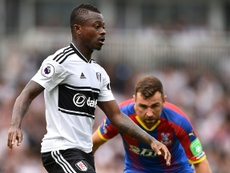 Jean Michael Seri has won the Premier League's Goal of the Month contest for August. AFP