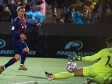 El Barça ya tiene rival para los octavos de final. AFP