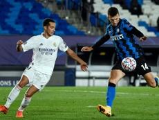 Lucas Vázquez está siendo clave para Zidane. AFP