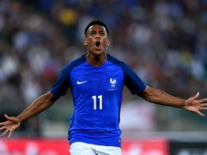 Anthony Martial has been given a rare start by Didier Deschamps. AFP