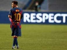 Messi verso il Manchester City. AFP