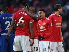 Lingard veut rester à Man United. AFP