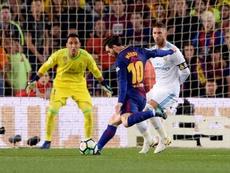 Seulement cinq buts encaissés pendant le Clasico. AFP