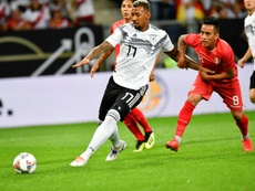Boateng pictured against Peru. AFP
