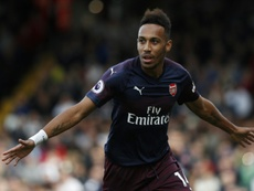 Pierre-Emerick Aubameyang will sit out for Gabon's clash. AFP