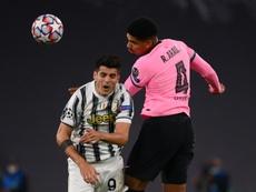 O clube comunicou hoje a lesão do jogador. AFP