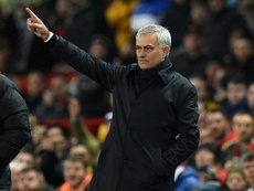 Mourinho préfère se concentrer sur le terrain.  afp