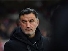 Galtier a analysé la défaite de son équipe. AFP