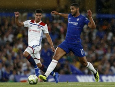 Ruben Loftus-Cheek was delighted to earn his first Chelsea appearance in Europe against Vidi. AFP