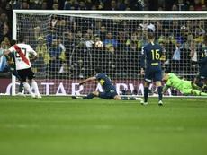Pratto fichó por el Feyenoord esta temporada. AFP
