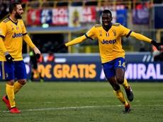 La Serie A sancionó al Verona por cánticos racistas. AFP