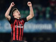 Le probabili formazioni di Milan-Lazio. AFP