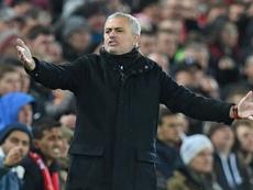 Mourinho comentará la final de la EFL Cup. AFP