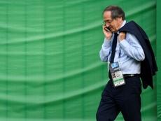 Le Graët bromeó con la situación de Dembélé. AFP