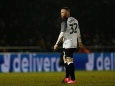 Rooney se mostró muy crítico. AFP