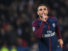 Kurzawa made history with his hat-trick. AFP