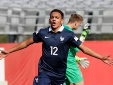 El francoargelino juega con las categorías inferiores de Francia. AFP
