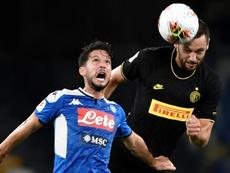 La renovación que tiene atada en corto el Inter. AFP