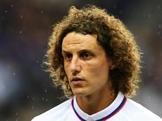 David Luiz, víctima de las redes. AFP
